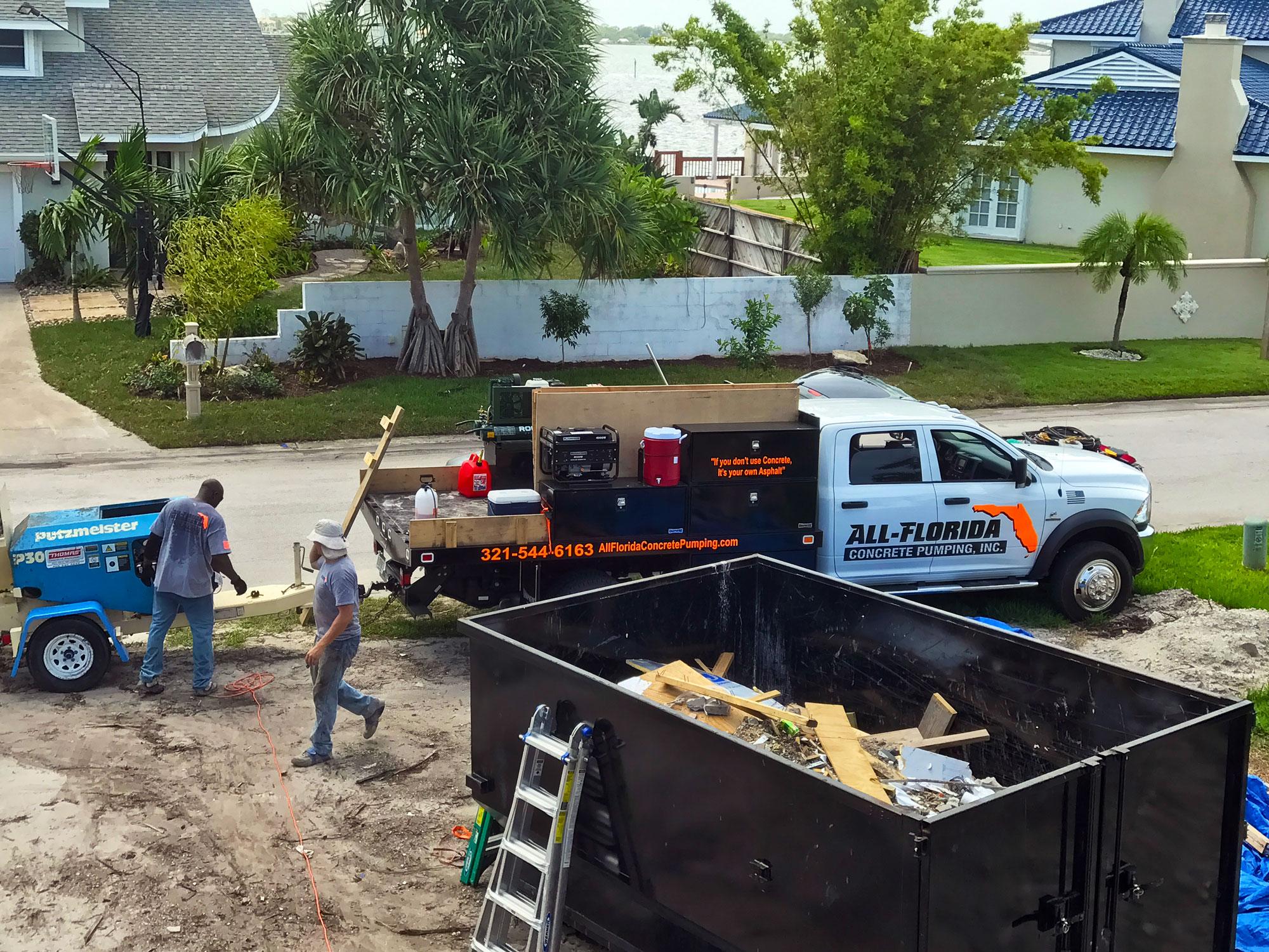 Brevard County FL concrete - 02