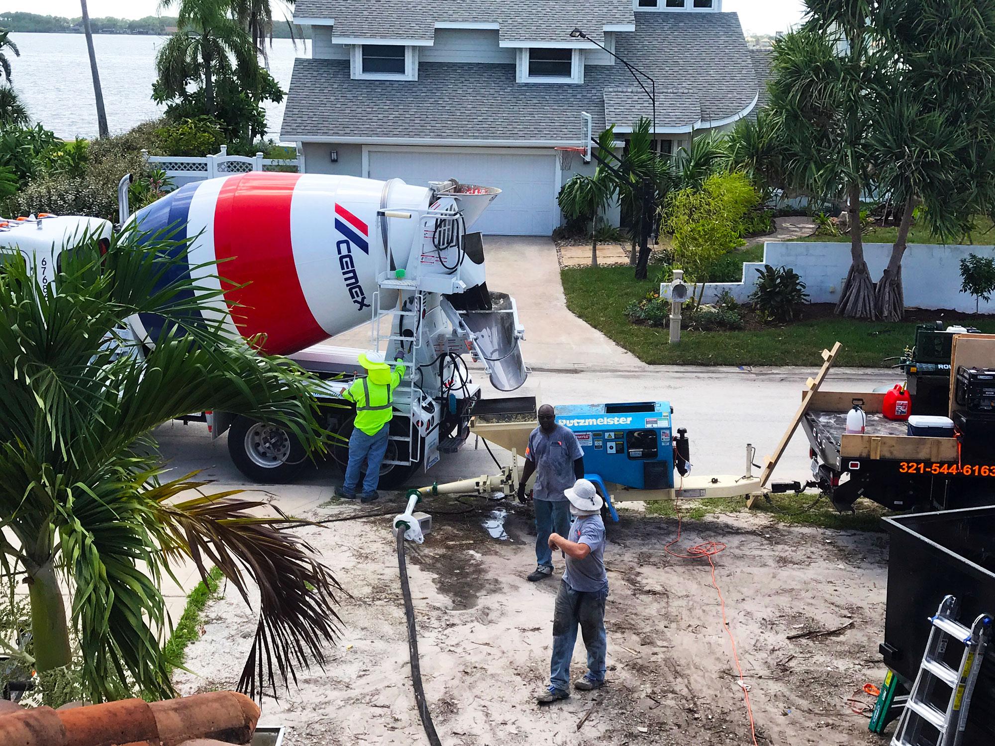 Brevard County FL concrete - 03