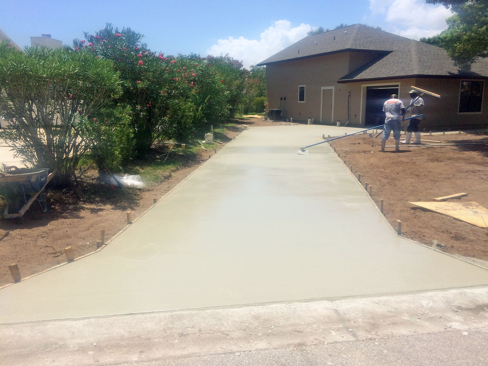 Slide 4 – Concrete Driveways Brevard County Florida
