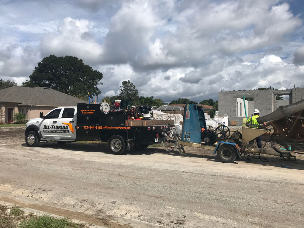 Concrete Pumping Services Orlando Florida – All-Florida Concrete